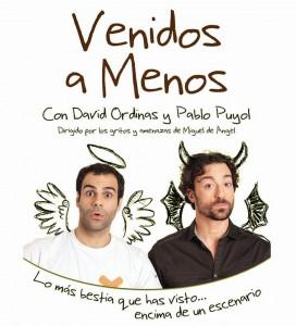 VENIDOS A MENOS